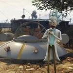 Rick y Morty invaden GTA V