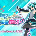 SEGA anuncia Hatsune Miku: Project DIVA Mega Mix para Nintendo Switch