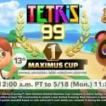 Nuevo evento de Tetris 99 basado en Animal Crossing: New Horizons