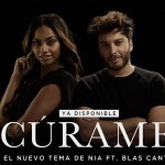 Nía publica el vídeo de Cúrame con Blas Cantó