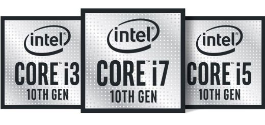 Logo Intel gen 10 Comet Lake-s