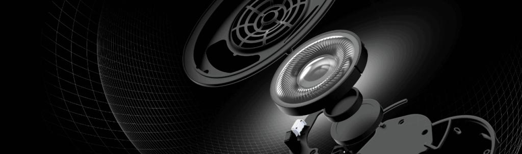 Intérieur des écouteurs