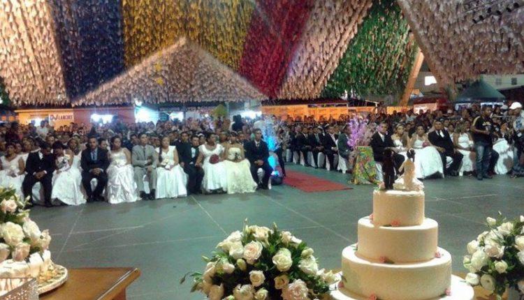 Casamento Coletivo do Maior São João do Mundo vai reunir 120 casais nesta terça