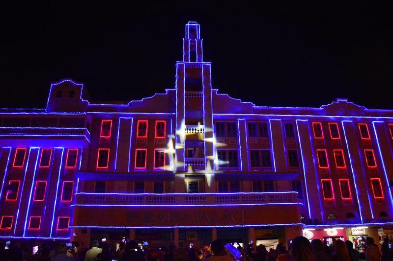 Gervásio inaugura iluminação natalina da AL e destaca revitalização do Ponto Cem Réis