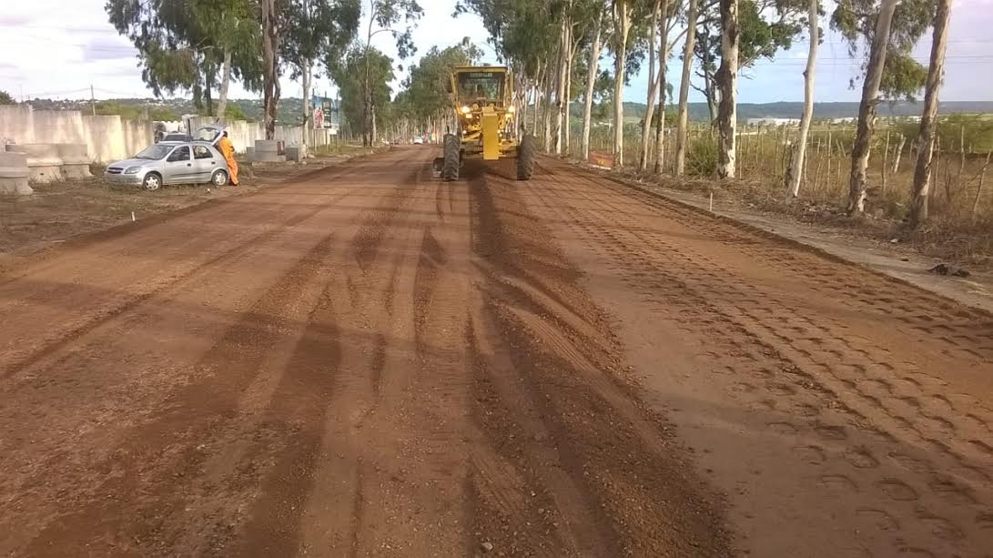 Obras de restauração da rodovia ligando BR-101 a Jacumã estão em ritmo acelerado