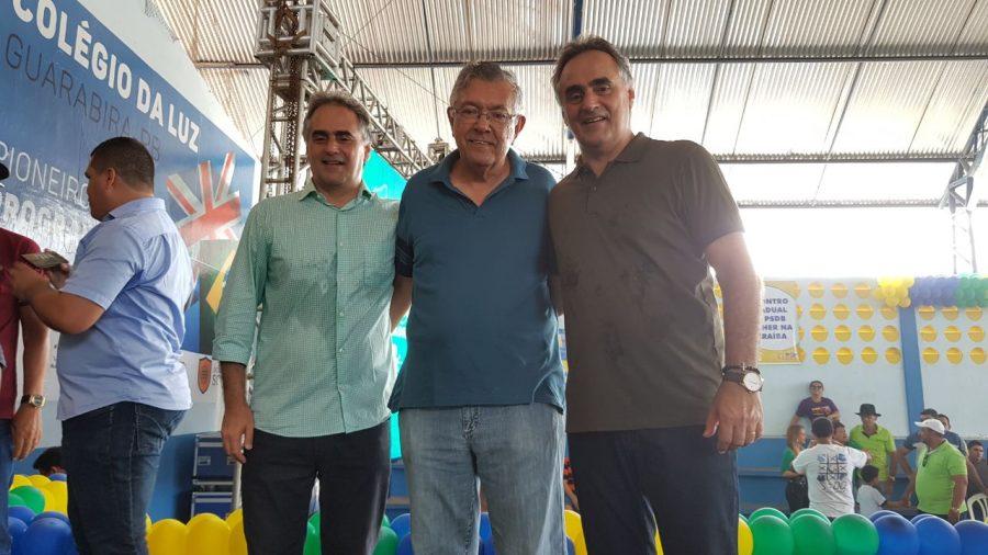 Em Guarabira, Lucélio defende modelo de desenvolvimento regionalizado e parcerias com municípios
