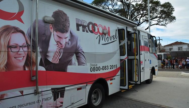 Procon-JP móvel volta a atender moradores de Mangabeira nesta sexta-feira