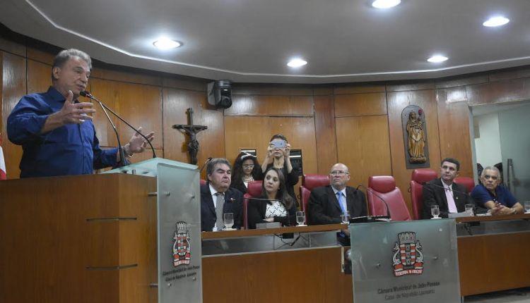 Presidenciável defende refundação da República durante evento na Câmara de JP