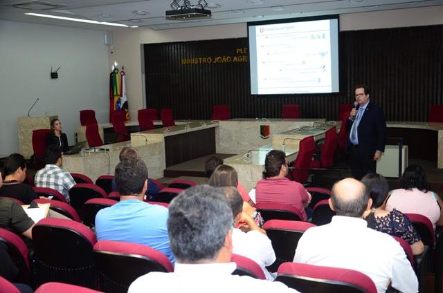 TCE traça cronograma de visita da Caravana das Obras para atualização do GeoPB