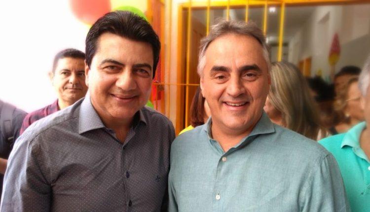 OUÇA: Manoel Jr volta a participar de solenidades da PMDP e Cartaxo enaltece a parceria