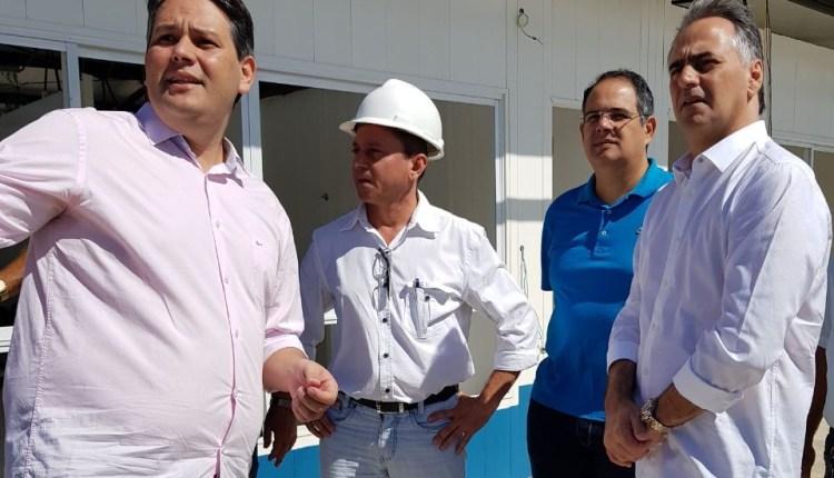 Em Patos, pré-candidato ao Governo Lucélio discute sobre educação com prefeito Dinaldinho