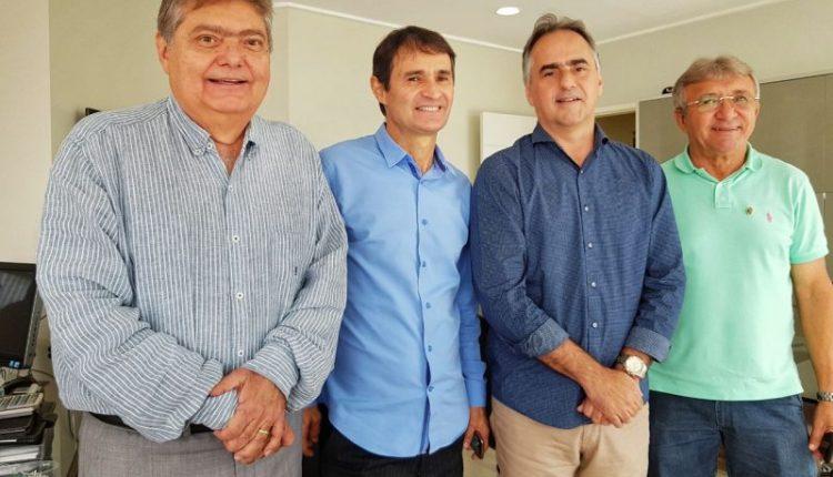 Em CG, Lucélio se reúne com Dalton Gadelha para discutir ideias para plano de governo