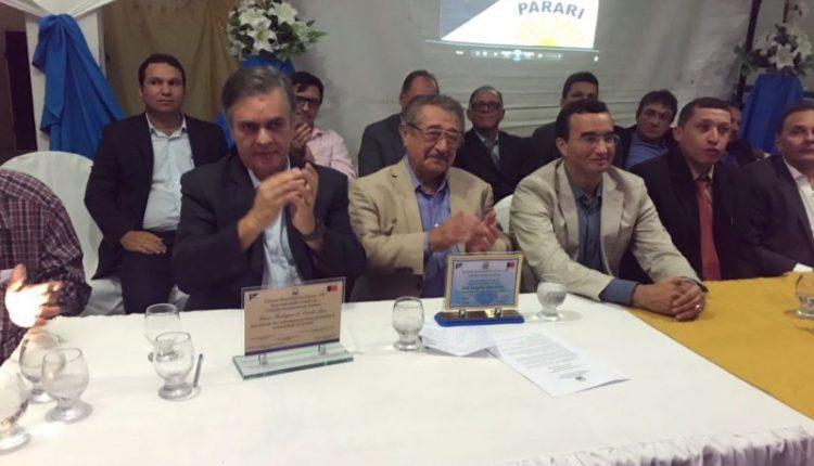 Alinhados: ao lado de Cássio, Maranhão é homenageado com título de cidadão de Parari