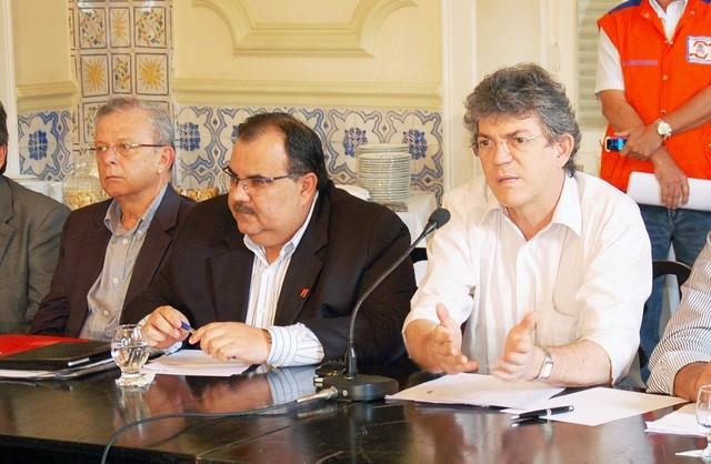 Ricardo encaminha projeto denominando obra com nome de Rômulo Gouveia em CG
