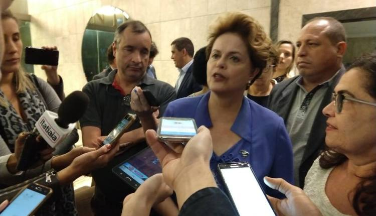Dilma anuncia que vai disputar uma vaga no Senado pelo Estado de Minas Gerais