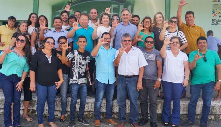 Lucélio Cartaxo encontra e recebe apoio de lideranças de Mari e região
