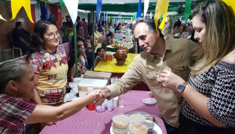 """Em Pirpirituba, Lucélio diz que """"é papel do Governo estimular o desenvolvimento e reduzir desigualdades"""""""