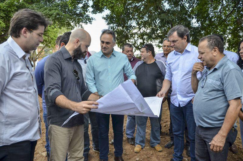 PMJP inicia as obras da primeira praça 100% inclusiva da Paraíba e mais quatro equipamentos de lazer