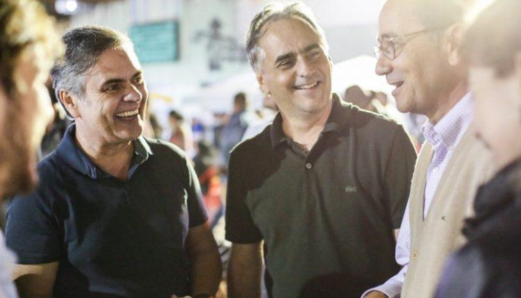 Com Cássio ao seu lado, Lucélio participa do Caminho do Frio acompanhados do prefeito de Areia