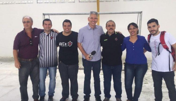 Único clube a propiciar contrapartida social ao Gol de Placa do Governo estadual, Belo vai às escolas de JP