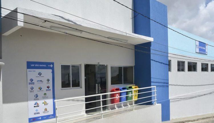 Prefeitura de João Pessoa entrega USF São Rafael e unidade vai atender mais de cinco mil usuários