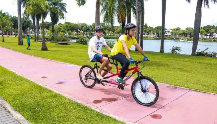 'Bike sem barreiras' realiza primeiro dia de atividades no Parque da Lagoa