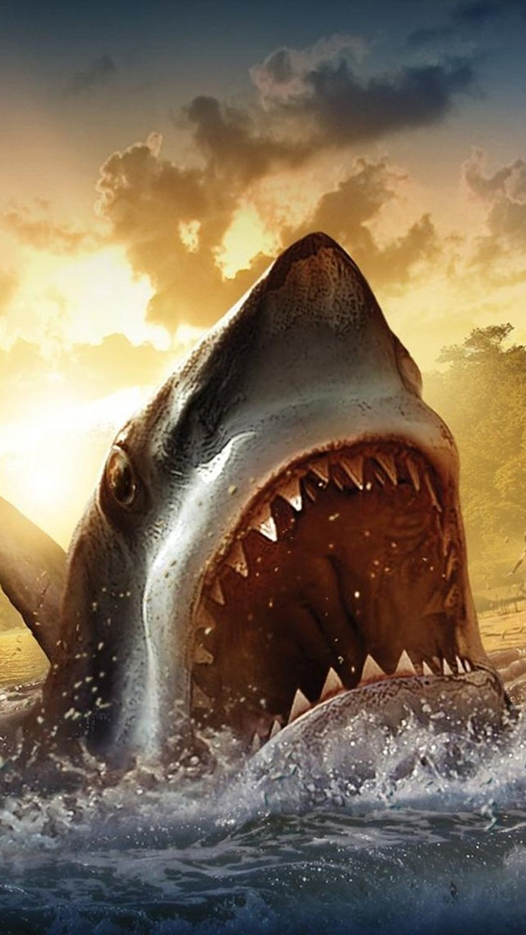 megalodon wallpapers (67+ background pictures)