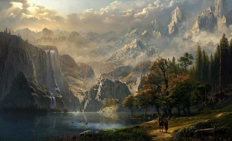 Epic Fantasy Wallpapers  87  background pictures  2558x1550 epic fantasy landscape wallpaper   vergapipe