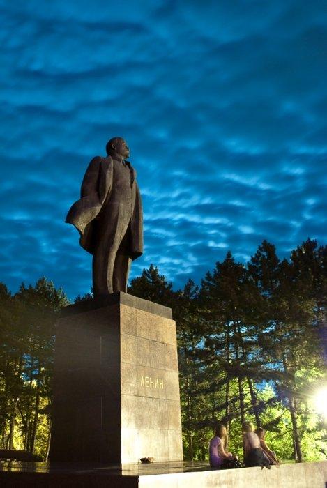 Памятник Ленину в Пятигорске