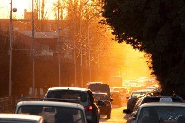 Закат в Пятигорске