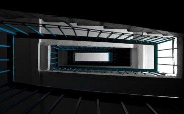 Лестница в пятиэтажке