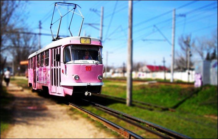 Розовый трамвай - Пятигорск