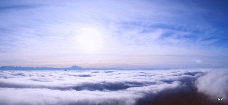 Пятигорск в облаках