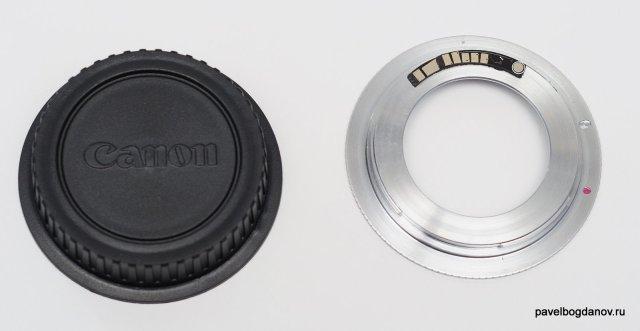 Переходник m42-Canon с чипом