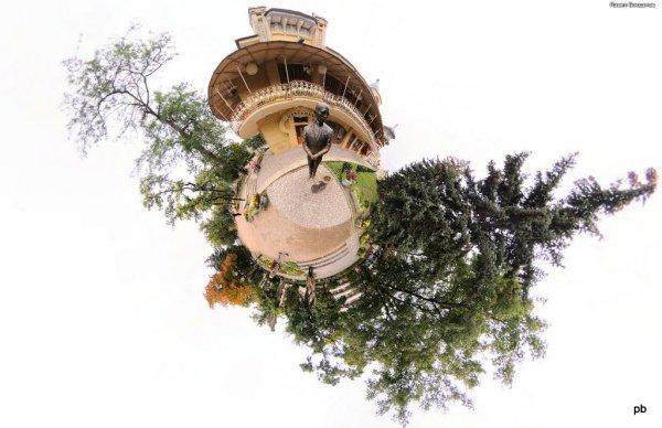 Фото памятника Кисе в Пятигорске