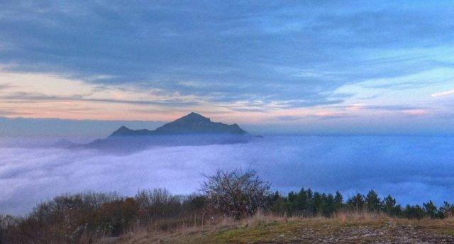 Фото Пятигорска с вершины Машука