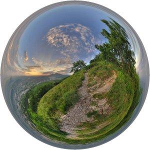 Лето - сферическая панорама