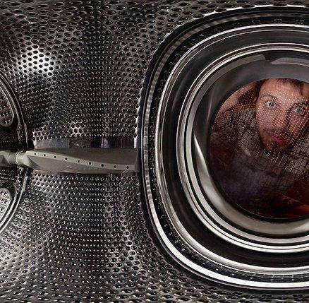 Панорама внутри стиральной машины