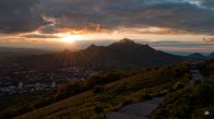 Закат над Бештау