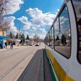 Необычная фотография с пятигорским трамваем