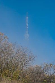 Пятигорская телевышка в тумане