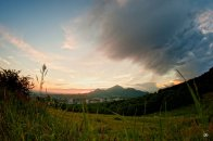 Закат, вид от ворот Солнца