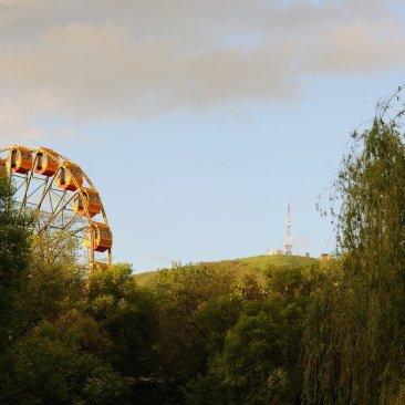 пятигорское колесо обозрения и Машук