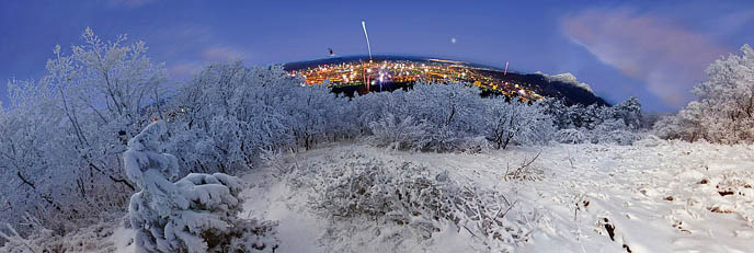 Новый год 2012 в Пятигорске