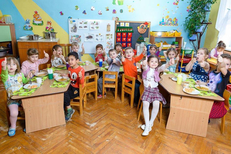 Лучшая репортажная фотография в детском саду