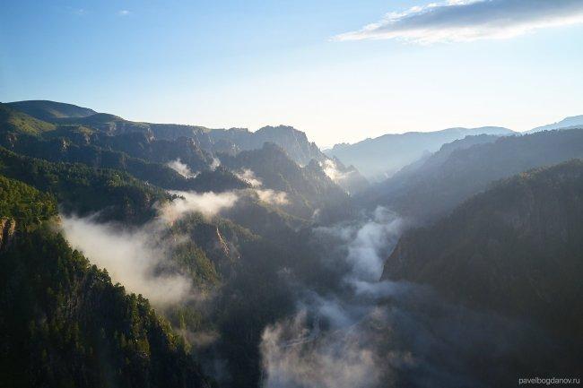 Ущелье в Кабардино-Балкарии