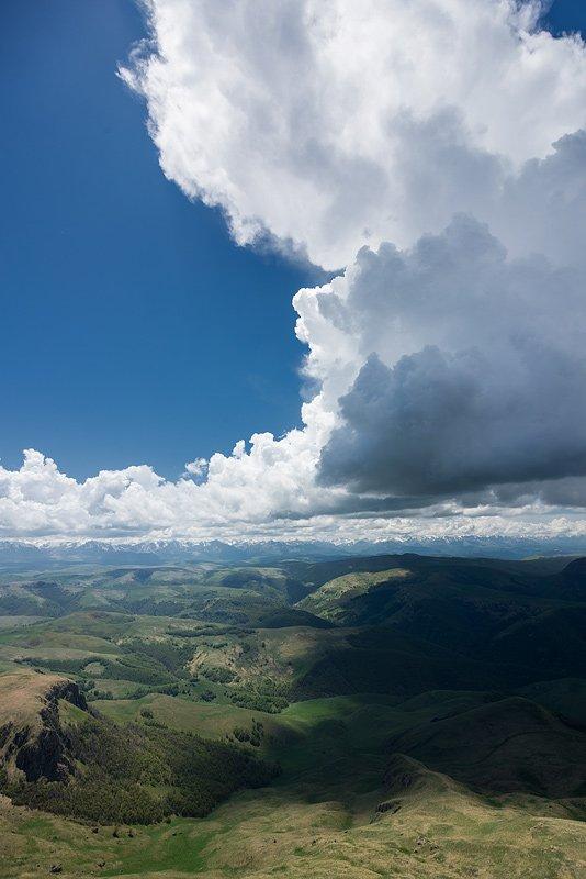 Дождевые облака Бермамыта