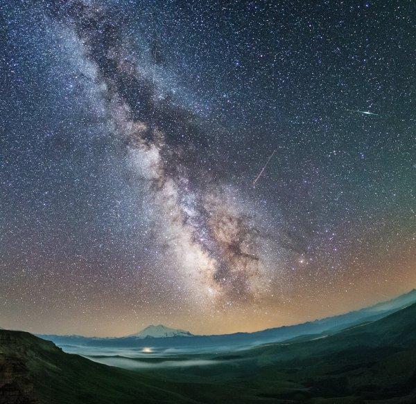 Персеиды и Млечный путь
