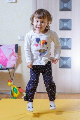 Фотография подвижного ребёнка
