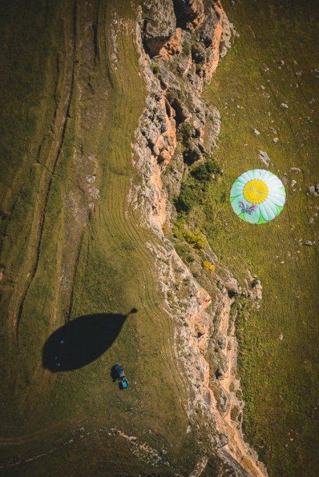 Полёт над Берёзовским ущельем